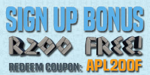 R200 No Deposit Bonus At Apollo Slots